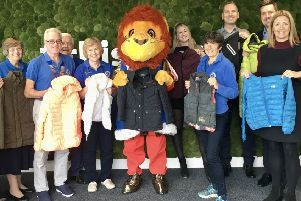 Focus Group is supporting Adur East Lions' Coats for Kids campaign, as part of a new partnership deal