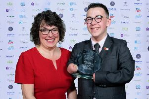 Disabled Sportsperson of the Year, Harvey Phillips.''Picture: Chris Vaughan Photography for Active Lincolnshire EMN-191118-094430002
