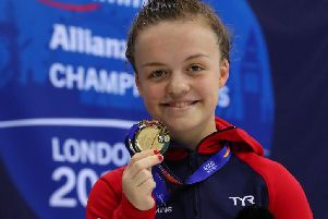 Northampton swimmer Maisie Summers-Newton has been nominated for the BBC Young Sports Personality of the Year for 2019