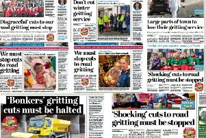 A selection of our newspapers' front page headlines this week