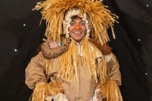 Jamie Lemetti as Scarecrow. Credit youreventphotography.uk