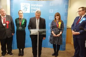 Horsham general election 2019 results announcement