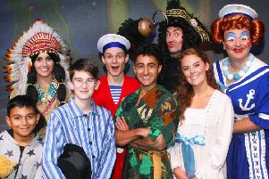 Peter Pan is at The Capitol, Horsham, until January 5. Photo by Derek Martin, dm1994469a