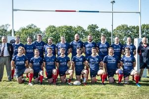 The Cranleigh first XV for the 2019/20 season. Picture courtesy of Nick Hendy